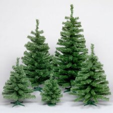 Canadian 3' Green Artificial Christmas Tree with Stand
