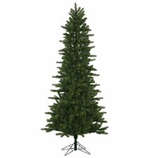 Kennedy Slim 6.5' Green Fir Artificial Christmas Tree with Stand