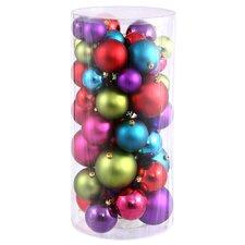 Shiny Christmas Ornament (Set of 50)