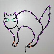 35Lt Fall Decor 35Lt LED Cat Window Décor
