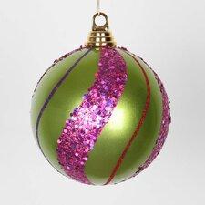 Shatterproof Christmas Glitter Ball Ornament