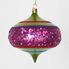 Onion Glitter Ornament (Set of 4)