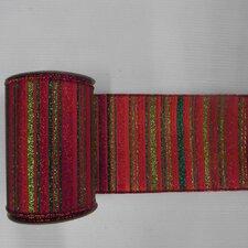 Glitter Stripe Ribbon