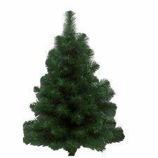 Douglas Fir 3' Green Fir Artificial Christmas Tree with 100 Dura-Lit Clear Lights