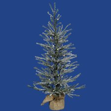 Frosted Angel 2' Pine Artificial Christmas Tree