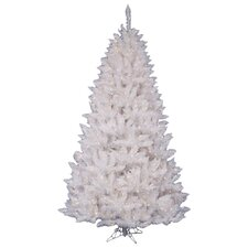 White Spruce 4.5' Artificial Christmas Tree with 180 LED White Lights