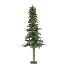 Alpine Tree 5' Green Pine Artificial Christmas Tree