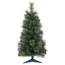 """24"""" Butte Mixed Pine Christmas Tree with Stand"""