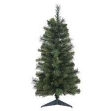 """24"""" Classic Mixed Pine Christmas Tree with Stand"""