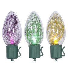 Mardi Gras Tinsel Light Set
