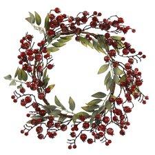 Icy Berry Wreath