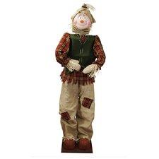 Decorative Plush Autumn Standing Scarecrow
