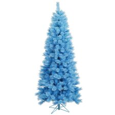 3' Baby Blue Cashmere Pine Slim Artificial Christmas Tree