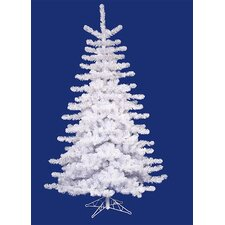 14' Crystal White Medium Artificial Christmas Tree