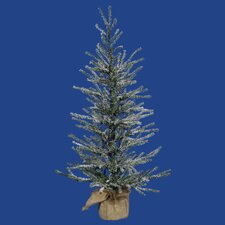 1.5' Frosted Angel Pine Artificial Twig Christmas Tree