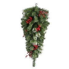 Siegal Berry Pine Artificial Christmas Teardrop Swag