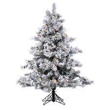 4.5' Flocked Alaskan Artificial Christmas Tree