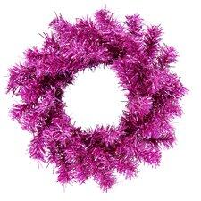"6"" Artificial Sparkling Mini Christmas Wreath"
