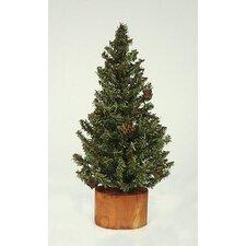 1' Carmel Pine Cone Artificial Christmas Tree
