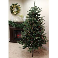 7' Grantwood Pine Artificial Christmas Tree with Multi Lights