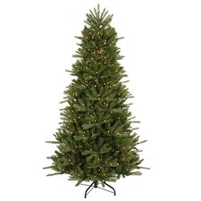 7.5' Vermont Instant Shape Christmas Tree with Clear Lights