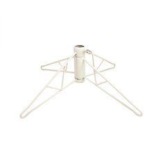 4.5' White Artificial Christmas Tree with Stand