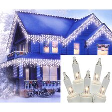 150 Commercial Grade Icicle Christmas Light (Set of 150)