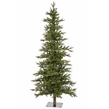 8' Shawnee Alpine Style Artificial Christmas Tree with LED Clear Lights