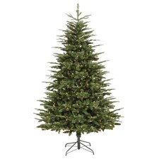 7' Grantwood Pine Artificial Christmas Tree with Clear Lights