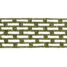 Metallic Rectangle Wired Mesh Ribbon