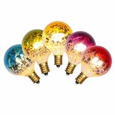 7W Multi E12 LED Light Bulb (Set of 5)