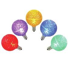 96W Multi E17 LED Light Bulb (Set of 5)