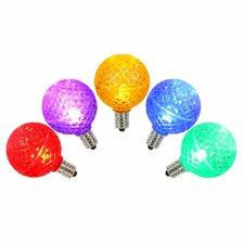 96W Multi E12 LED Light Bulb (Set of 5)