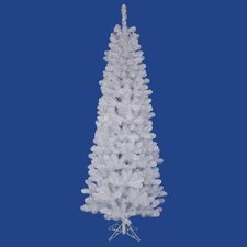 Salem Pencil 7.5' White Pine Artificial Christmas Tree