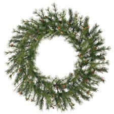 "Mixed Country Pine 60"" Wreath"