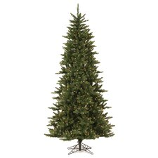 Camdon Fir 8.5' Green Artificial Christmas Tree with 700 LED Warm White Lights with Stand