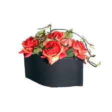 Floral Artificial Potted Roses
