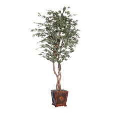 Designer Artificial Potted Natural Maple Heartland Tree in Planter