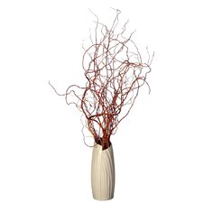 Floral Curly Willow in Vase
