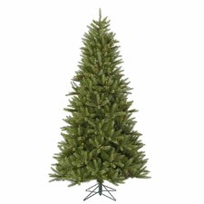 Bradford 7.5' Green Pine Artificial Christmas Tree with 550 Dura-Lit Multi Lights with Stand