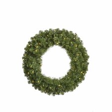 Grand Teton Wreath with 1000 LED Lights
