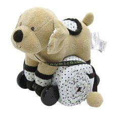 Pull Toy with Baby Quilted Blanket