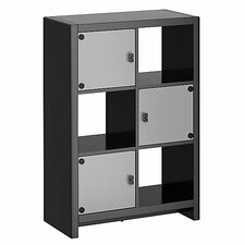 "New York Skyline 46.69"" Cube Unit Bookcase"