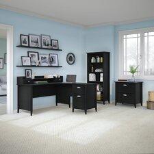 Connecticut 4-Piece L-Shape Desk Office Suite