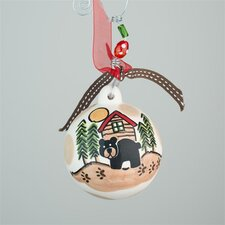 Black Bear Ball Ornament
