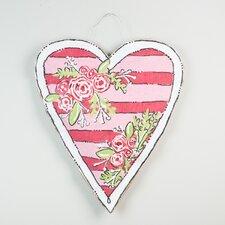 Heart Stripe Burlee Wall Décor
