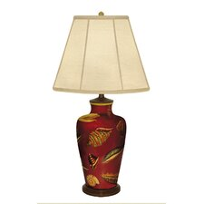 """Shells 31"""" H Table Lamp with Empire Shade"""