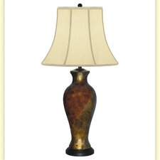 """Elegance Hand Painted Porcelain 34"""" H Table Lamp"""