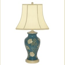 """Shell in The Sea Porcelain 27"""" H Table Lamp"""