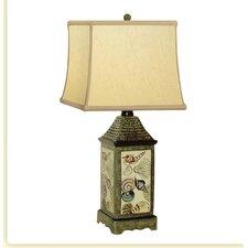 """Shell Porcelain 20"""" H Table Lamp"""
